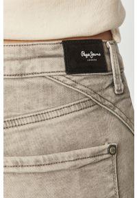 Szare jeansy Pepe Jeans retro