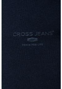Cross Jeans - Spodnie. Kolor: niebieski. Materiał: materiał