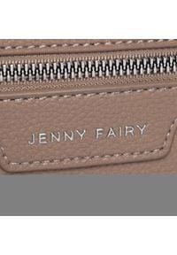Jenny Fairy - Torebka JENNY FAIRY - RD0239 Beige. Kolor: beżowy. Materiał: skórzane. Styl: elegancki