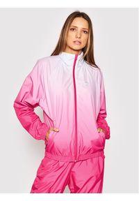 Adidas - adidas Wiatrówka Tracktop GN2814 Różowy Regular Fit. Kolor: różowy
