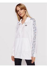 Biała kurtka przejściowa Adidas