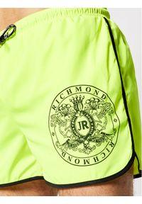 John Richmond Szorty kąpielowe Madley UMP21128CO Żółty Regular Fit. Kolor: żółty #5