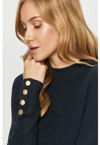 Niebieski sweter Jacqueline de Yong z długim rękawem, długi