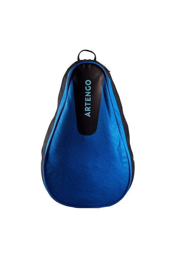 ARTENGO - Plecak tenis 100 BP. Kolor: niebieski, wielokolorowy, turkusowy. Materiał: poliester, materiał. Styl: sportowy