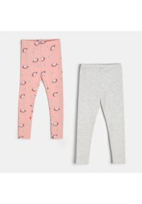Różowe legginsy Sinsay