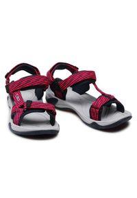 CMP Sandały Kids Hamal Hiking Sandal 38Q9954J Czerwony. Kolor: czerwony
