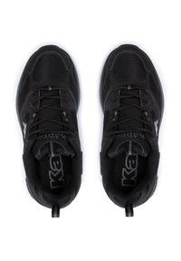Kappa - Sneakersy KAPPA - Yero 243003 Black 1111. Okazja: na spacer, na co dzień. Kolor: czarny. Materiał: materiał. Szerokość cholewki: normalna. Sezon: lato. Styl: casual