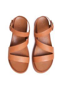 Inuovo - Sandały INUOVO - 112041 Coconut. Kolor: brązowy. Materiał: skóra. Sezon: lato