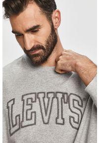 Szara bluza nierozpinana Levi's® bez kaptura, biznesowa, na spotkanie biznesowe