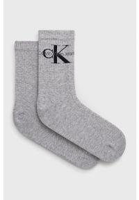 Calvin Klein Jeans - Skarpetki. Kolor: szary