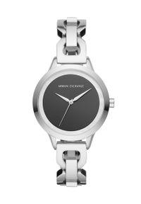 Srebrny zegarek Armani Exchange