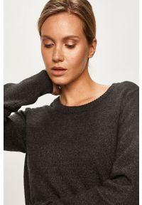 Szary sweter Vila casualowy, na co dzień