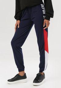Niebieskie spodnie dresowe Born2be