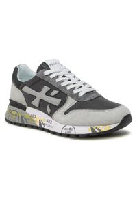 Premiata Sneakersy Mick 5188 Szary. Kolor: szary