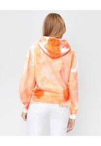CHAOS BY MARTA BOLIGLOVA - Pomarańczowa bluza Splash z bawełny. Kolor: pomarańczowy. Materiał: bawełna. Styl: klasyczny, elegancki, sportowy