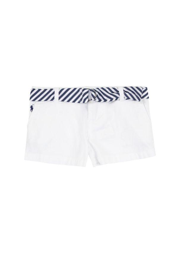 Białe spodnie Polo Ralph Lauren