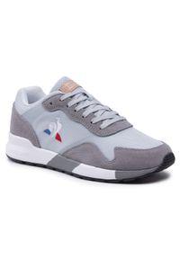 Le Coq Sportif - Sneakersy LE COQ SPORTIF - Omega Y 2110039 Galet. Kolor: szary, niebieski, wielokolorowy. Materiał: skóra, materiał, zamsz. Szerokość cholewki: normalna