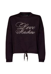 Czarna bluza Love Moschino