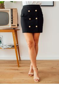 Czarna spódnica Fanaberia.com klasyczna