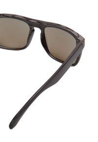 Szare okulary przeciwsłoneczne TOP SECRET prostokątne