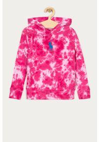 Różowa bluza Polo Ralph Lauren na co dzień, polo, casualowa