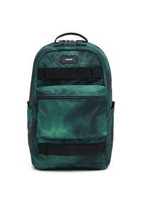Oakley plecak miejski Street Skate Backpack Alien Print U. Kolor: zielony. Wzór: nadruk. Styl: street
