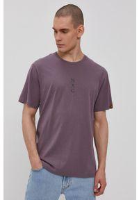 Protest - T-shirt. Okazja: na co dzień. Kolor: fioletowy. Wzór: nadruk. Styl: casual