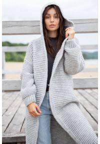 Sweter z długim rękawem, długi