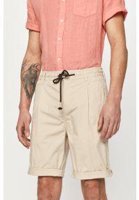 Pepe Jeans - Szorty Poplin. Okazja: na co dzień. Kolor: szary. Styl: casual
