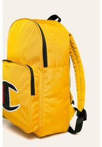 Żółty plecak Champion z aplikacjami