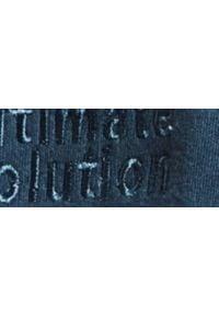 TOP SECRET - Bluza gładka z haftem. Okazja: na co dzień, do pracy. Kolor: niebieski. Materiał: materiał. Długość rękawa: długi rękaw. Długość: długie. Wzór: gładki, haft. Sezon: wiosna. Styl: sportowy, casual, klasyczny