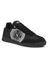 Versace Jeans Couture Sneakersy E0YWASO2 Czarny. Kolor: czarny