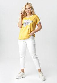 Born2be - Żółta Bluzka Kleonisse. Kolor: żółty