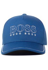 Niebieska czapka z daszkiem BOSS