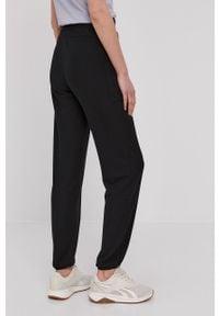 Only Play - Spodnie. Kolor: czarny. Materiał: wiskoza, dzianina, poliester. Wzór: gładki #4