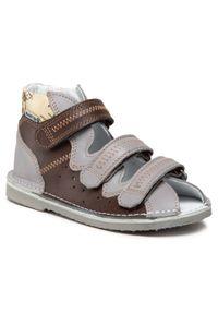 Brązowe sandały Bartek