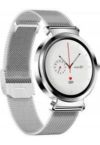 Smartwatch Bakeeley SD-1 Srebrny. Rodzaj zegarka: smartwatch. Kolor: srebrny
