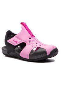 Różowe sandały Nike