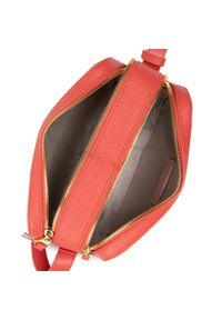 Coccinelle - Torebka COCCINELLE - H60 Lea E1 H60 15 02 01 Coral Red R34. Kolor: czerwony. Materiał: skórzane
