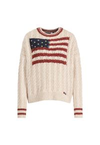 Beżowy sweter Superdry
