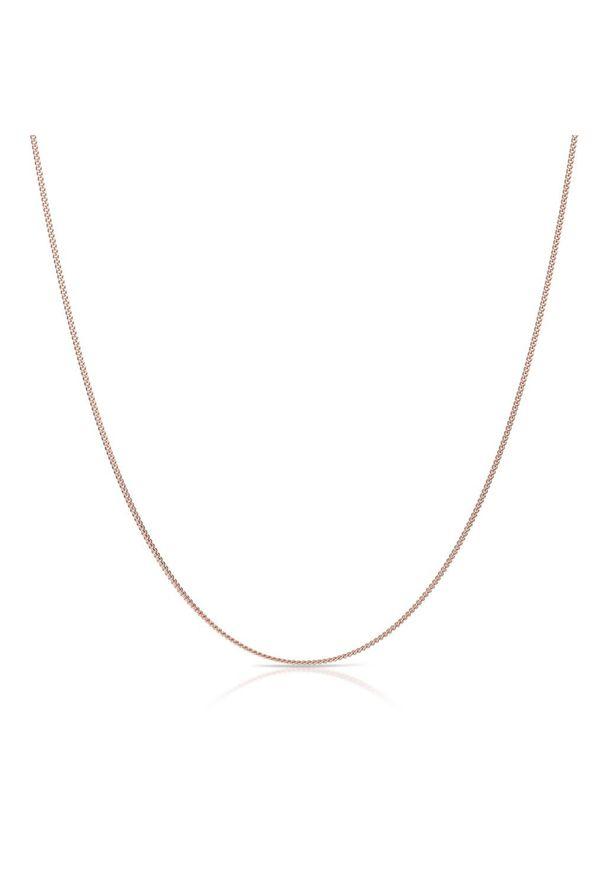 W.KRUK Łańcuszek Srebrny - srebro 925 - SCR/LS129R. Materiał: srebrne. Kolor: srebrny. Wzór: ze splotem