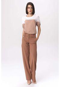 Spodnie z wysokim stanem Nife
