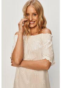 Biała sukienka only mini, na co dzień