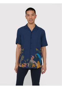 Only & Sons - ONLY & SONS Koszula Arthur 22016588 Granatowy Regular Fit. Kolor: niebieski