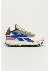 Wielokolorowe buty sportowe Reebok Classic z cholewką, na średnim obcasie