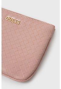 Guess - Kosmetyczka (3-pack). Kolor: różowy