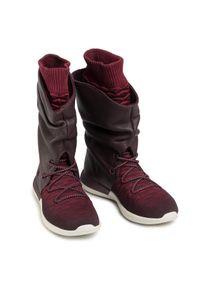 Czerwone buty sportowe Nike Nike Roshe