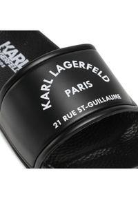 Karl Lagerfeld - KARL LAGERFELD Klapki Z29035 Czarny. Kolor: czarny