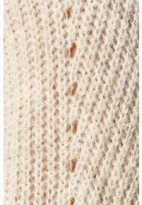 Szary sweter rozpinany Vila