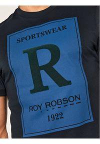 Niebieski t-shirt Roy Robson